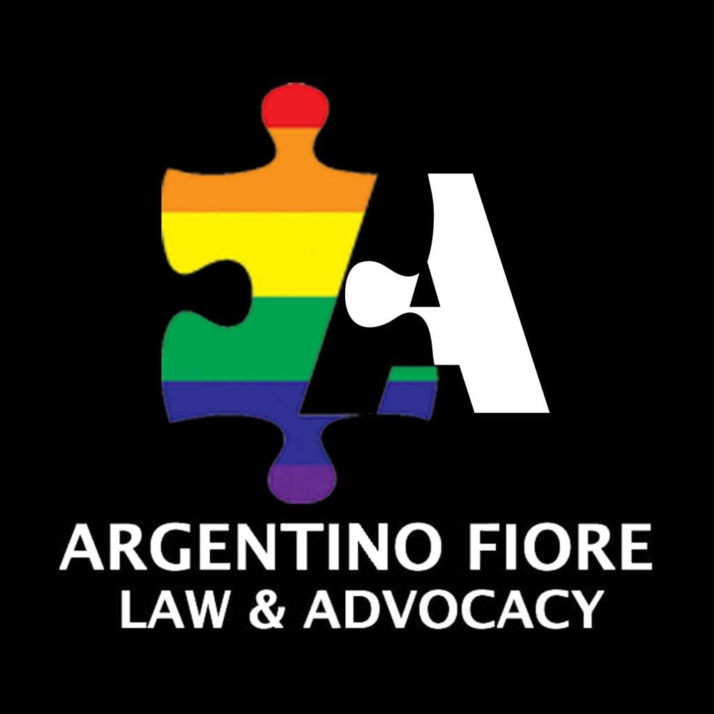 300 dpi stacked rainbow white on black logo