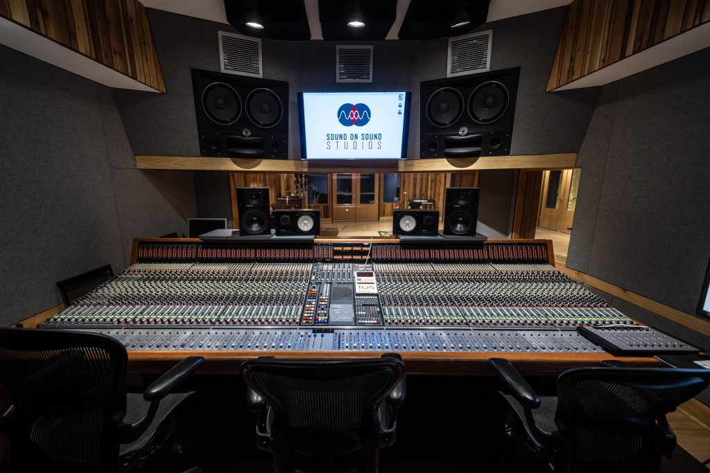 Studio A of Sound on Sound Studios 2/15/18